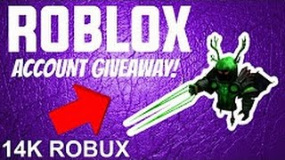NEW* RICH ROBLOX ACCOUNT GIVEAWAY (JAN 2018) (NOT CLICKBAIT) *LOTS