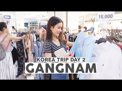 Korea Trip 2017 Day 2⎮ Cheap shopping, Myeongdong and street food