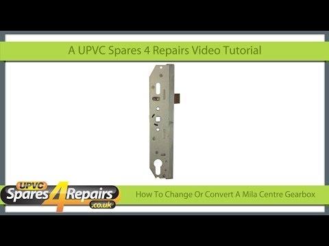 How To Change Or Convert A Mila UPVC Door Lock