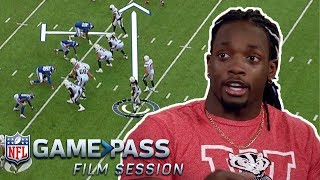 Melvin Gordon Breaks Down When to Hurdle, Catching Out of the Backfield, and More | NFL Film Session