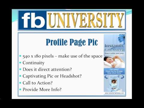 Facebook Profile Picture:  Creating the Best Page Profile Image