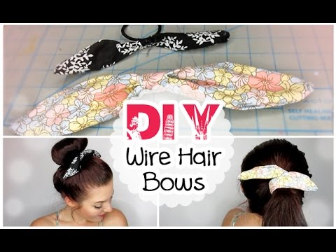 DIY Wire Hair Bows | #BTSwithAmanda