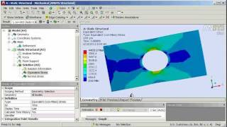 Cornell ANSYS Tutorial: Linear Column Buckling, Geometry