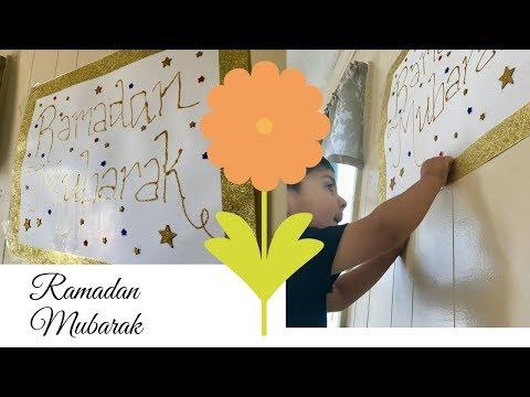 Our DIY Ramadan Poster Nazkitchenfun