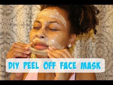 DIY Peel Off Face Mask| WAXING My face!