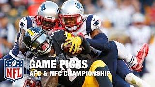 Championship Weekend Game Picks | NFL