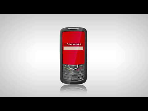 Vodacom m-pesa: Sending money
