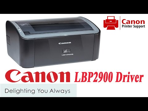 Canon LBP 2900 Driver, How To Inslall