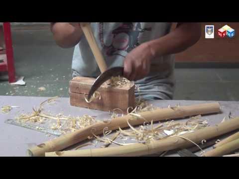 Making of Bamboo Stool