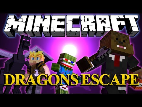 ENDER DRAGON RAMPAGE Minigame w/ Bashur and GoldSolace