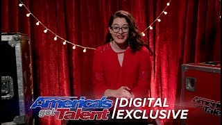 Deaf Singer Mandy Harvey Chats About Receiving the Golden Buzzer - America