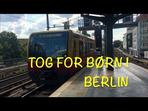 S-tog, sporvogne, metro og andre tog i Berlin 2