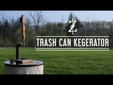 The Trash Can Kegerator