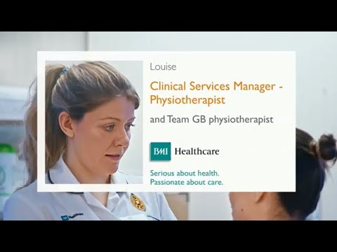 How physiotherapists make a difference at BMI Healthcare