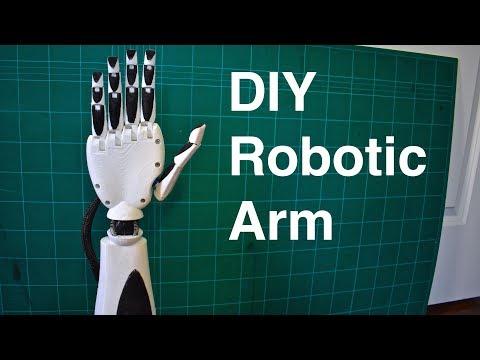 DIY Robotic Arm 3D Printed (an Initial Prosthetic Prototype)