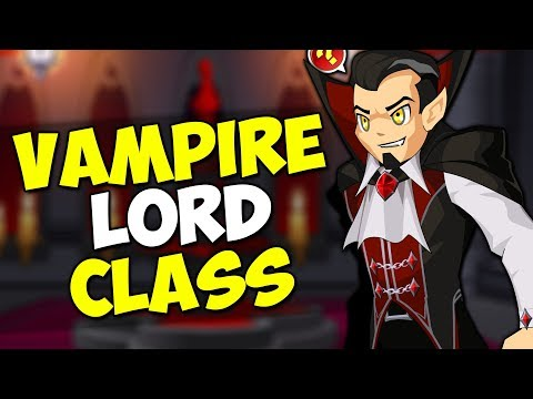 How to Get Vampire Lord CLASS Free Non-Member AQW Class AdventureQuest Worlds