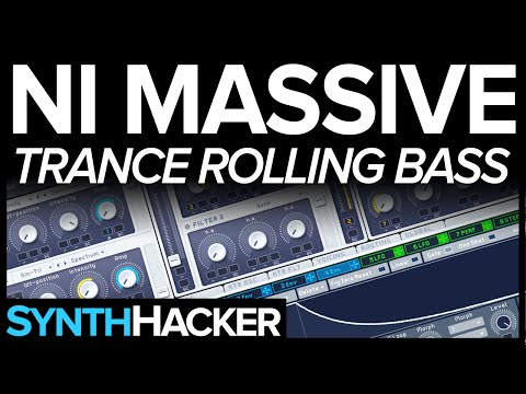 Massive Tutorial - Psytrance / Trance Rolling Bass