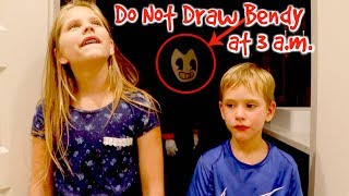 Download DO NOT DRAW BENDY at 3 AM Challenge Bendy and The Ink Machine Hope and Noah SHK Comic