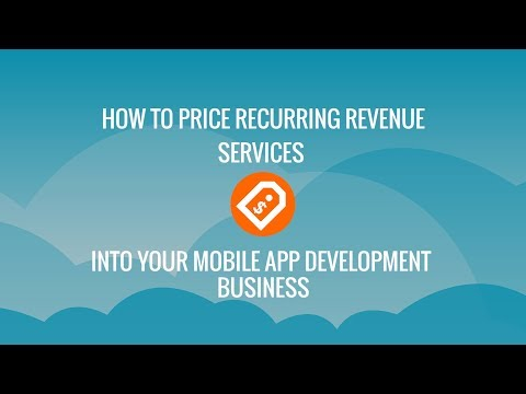 How to Price Recurring Revenue Services in Your Mobile App Business   Kumulos