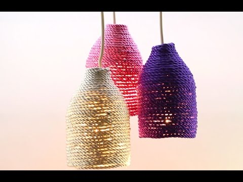 Transform a Plastic Bottle into a Stylish Lamp