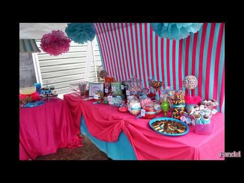 Wedding Candy Buffet Table Ideas