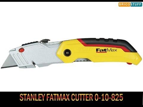 Couteau cutter pliable à lame trapèze rétractable Stanley Fatmax 0-10-825 knife