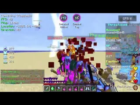 3 More God Set Kills On CosmicPvP Ep 13 (Factions) Map 7 [Alien Planet]