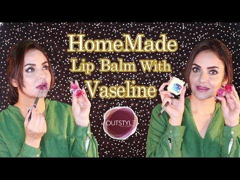 Homemade Vaseline Lip Balm Recipe | DIY Lip Balm For Pink Soft Lips