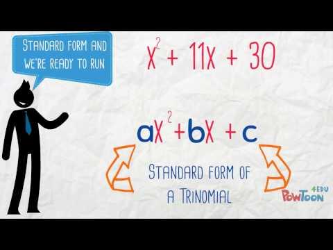 Factoring Trinomials Song (a = 1)
