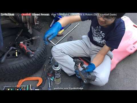 How To Replace Brake Pads And Rotors | Do It Yourself Guide DIY Tutorial | If Caliper Piston Frozen