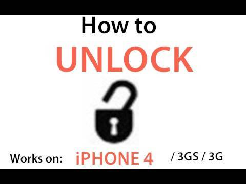 How to Unlock (Change Carriers) Your iPhone (iPhone 4, iPhone 3GS & 3G)