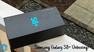 Samsung Galaxy S8 Plus Unboxing