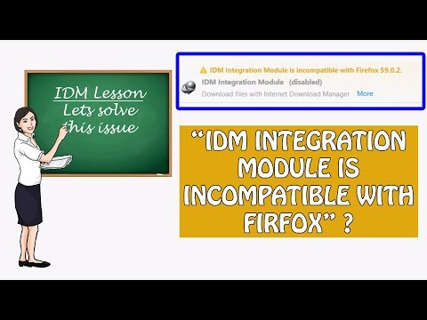 ◄ Solved ► IDM Integration Module is incompatible with Firefox