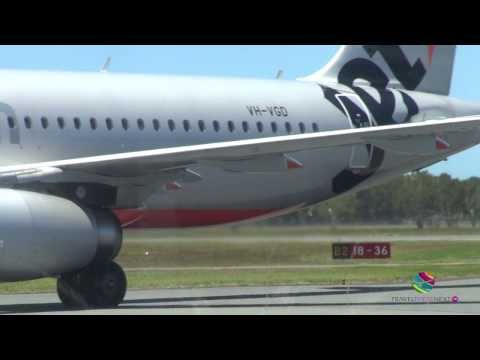 Jetstar flight, Sunshine Coast to Melbourne, Australia