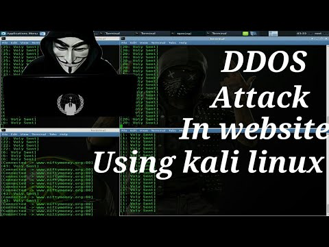 How to ddos attack in website || powerfull ddos attack|| using kali linux