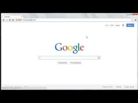 How To Make Google My Homepage in Google Chrome,Safari Browser