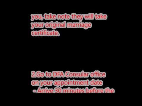 How to Renew Passport and update marital status