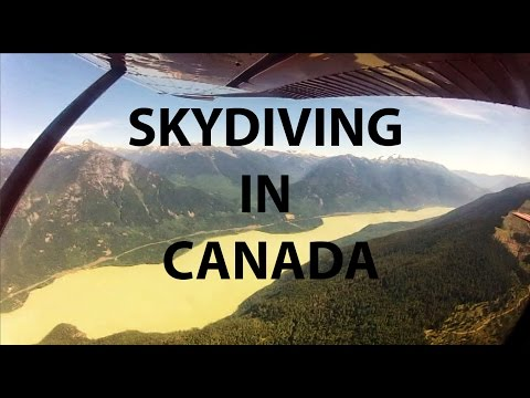 Skydiving in Canada