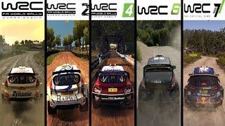 WRC vs WRC 2 vs WRC 3 vs WRC 4 vs WRC 5 vs WRC 6 vs WRC 7 - Gameplay Comparison HD