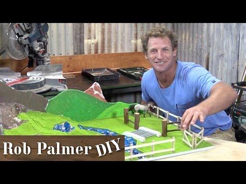 DIY Mini Toy Farm | Rob Palmer DIY