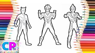 Ultraman Ginga Coloring Pages Videos 9tube Tv