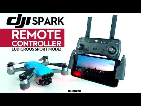 DJI Spark w/ Remote Controller — Sport Mode is Ludicrous! [4K]