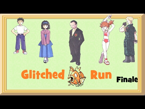 Pokemon Red/Blue - Glitched Magikarp Run (Finale)