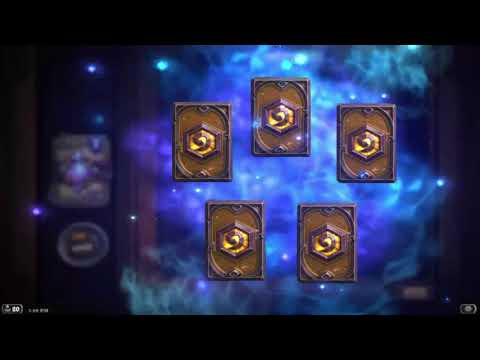 Witchwood, 40 pack opening! [Hearthstone]
