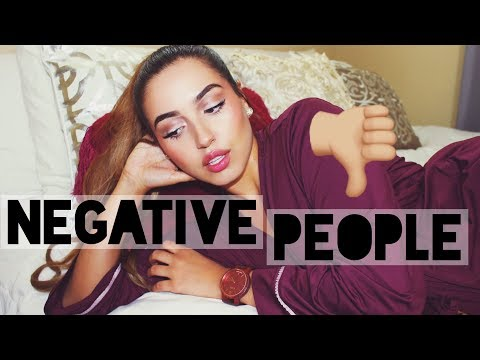 How to Deal with Negative Friends & Family