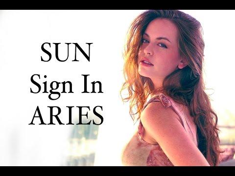 ARIES SUN SIGNS