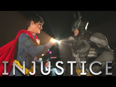 BATMAN vs SUPERMAN - INJUSTICE MUSIC VIDEO BATTLE