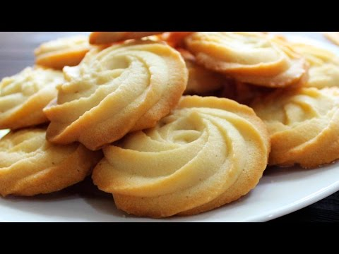 MELTING MOMENTS Cookies Recipe ♥ Eggless Butter Cookies ♥ Really Melt In Your Mouth ♥ Tasty Cooking