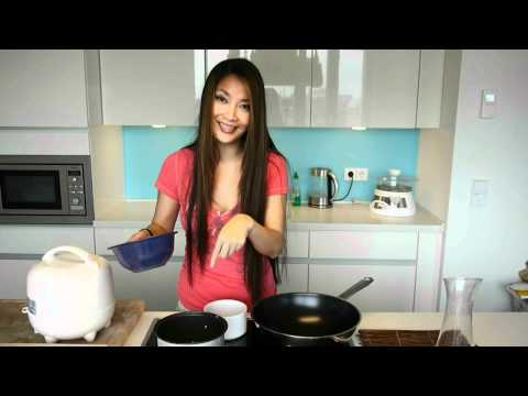 How to make steamed rice with rice cooker