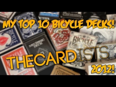 My Top 10 Bicycle Decks - Thecardists